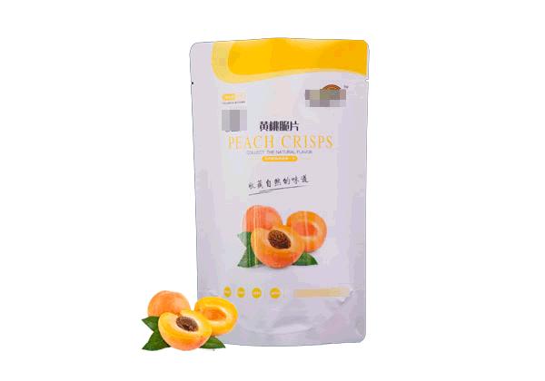 黄桃脆片包装袋